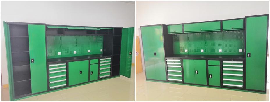 多功能组合式工具柜工作站展示图